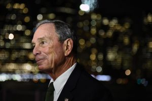 NEW YORK, NY - OCTOBER 08:  Former New York City Mayor/philanthropist Michael Bloomberg attends the 3rd Annual Brooklyn Bridge Park Conservancy Brooklyn Black Tie Ball at Brooklyn Bridge Park on October 8, 2015 in New York City.  (Photo by Ilya S. Savenok/Getty Images)