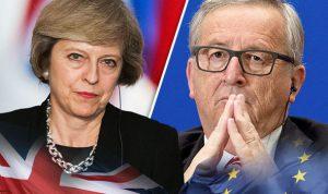 Theresa May egy fillért se fizet az EU-nak a kilépésért - Juncker tanácstalan