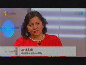 Levél Járai Judithoz, az MTI washingtoni tudósítójához: rettegésed közügy és kártékony